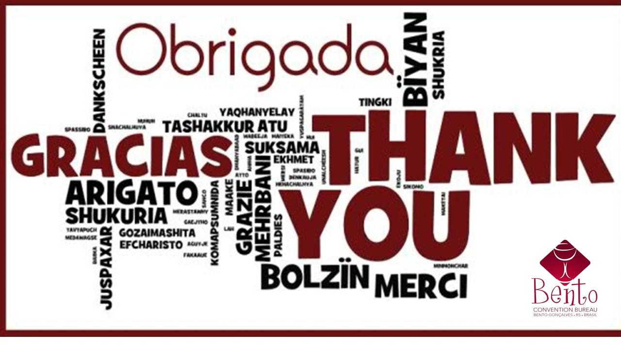 Obrigado Por Fazer Parte Da Nossa História!!