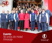 Associado do Bento Convention Bureau, Hotel Vinocap comemora 50 anos