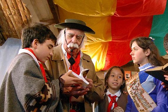 Cultura Gaúcha, Créditos Almir Dupont e Prefeitura Municipal
